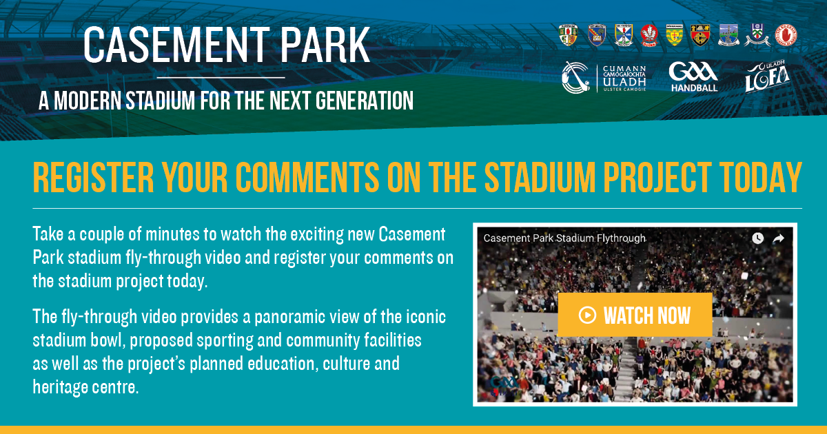 Casement Park Re-development - Register your interest